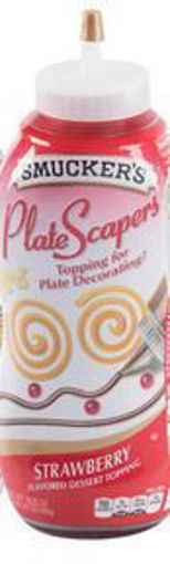 Picture of Smuckers - Strawberry Plate Scapers - 19.5 oz bottle, 12/case