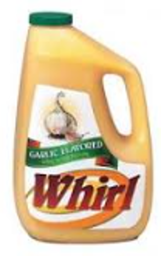 Picture of Whirl - Garlic Flavored Oil -1 gallon, 3/case