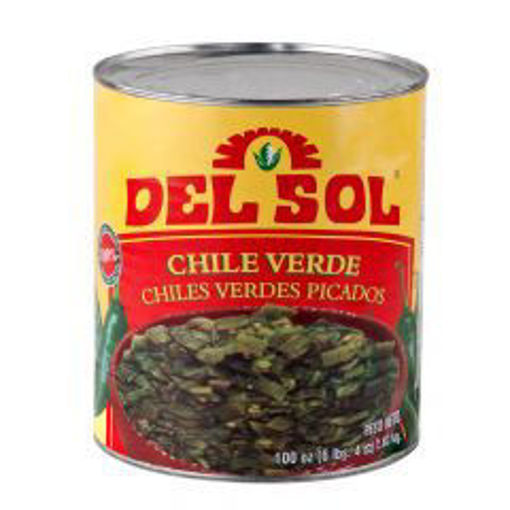 Picture of Del Sol - Diced Green Chiles - 28 oz cans, 12/case