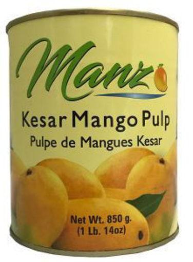 Picture of Manzo - Kesar Mango Pulp - 850G, 6/case