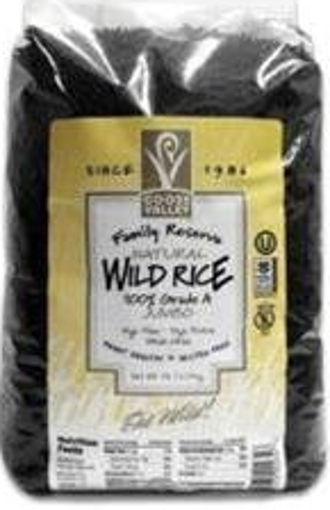 Picture of Goose Valley - Black Wild Rice - 5 lb Bag, 4/case