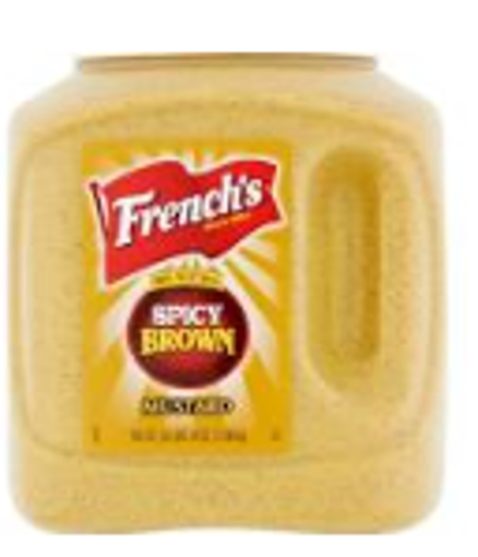 Picture of Frenchs - Spicy Brown Mustard - 105 oz, 4/case