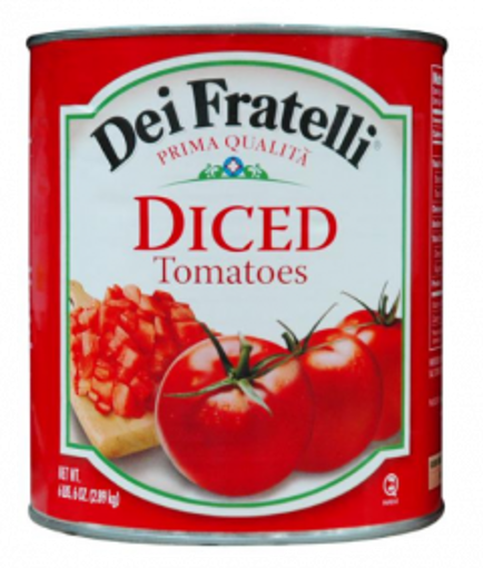 Picture of Dei Fratelli- Diced Tomatoes - #10 cans, 6/case