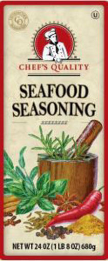 Picture of Chefs Quality - Seafood Seasoning - 24 oz, 12/case