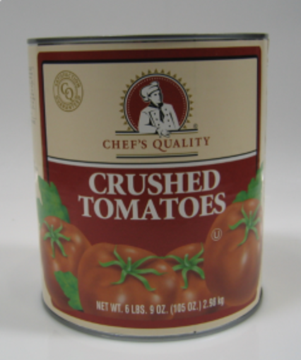 Picture of Chefs Quality - Crushed Tomatoes - #10 cans, 6/case