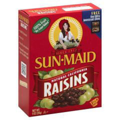 Picture of Sun-Maid - Black Raisins - 12 oz, 24/case