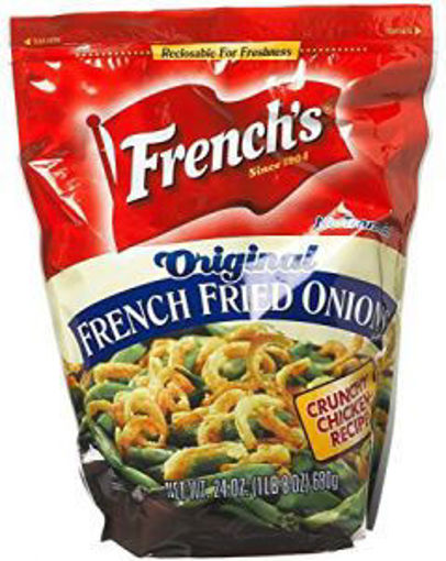 Picture of Frenchs - Original French Fried Onions - 24 oz, 6/case