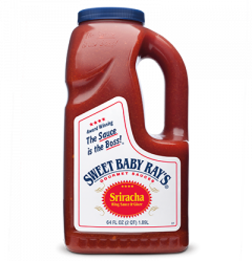 Picture of Sweet Baby Rays - Sriracha Wing Sauce - 64 oz Bottle, 4/case