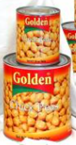 Picture of Golden - Chick Peas - 92oz. Can, 6/case