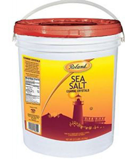 Picture of Roland - Coarse Crystal Sea Salt - 27.8 lbs