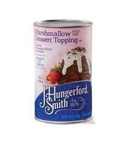Picture of J. Hungerford Smith - Marshmallow Dessert Topping - #5 Can, 6/case