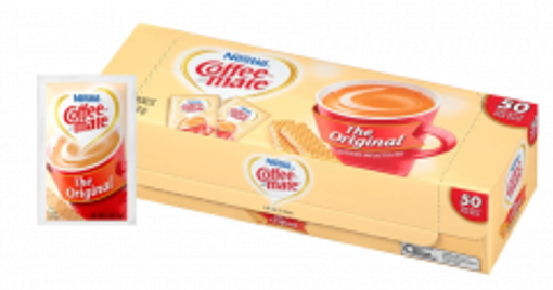 Picture of Coffee mate - Powder Creamer Packets - 50 Ct, 20/case