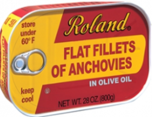 Picture of Roland - Anchovies in Olive Oil - 12/28 oz