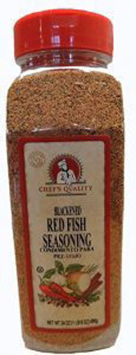 Picture of Chefs Quality - Blackened Redfish Seasoning - 12/24 oz Jar