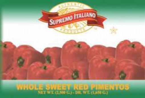 Picture of Supremo Italiano - Red Pimentos - #10 can, 6/case