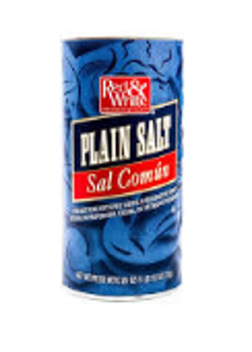 Picture of Red & White - Plain Salt - 24/26 oz