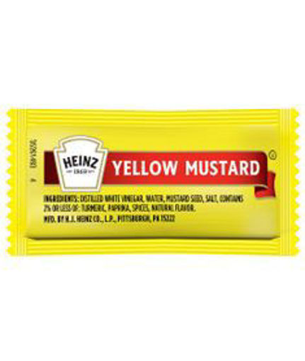 Picture of Heinz - Mustard Packets - 500 Ct