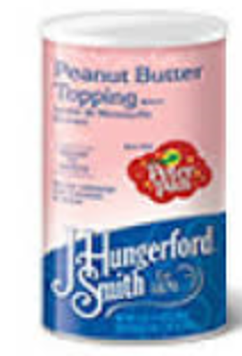 Picture of J Hungerford Smith - Peanut Butter Topping - 5 lbs, 3/case