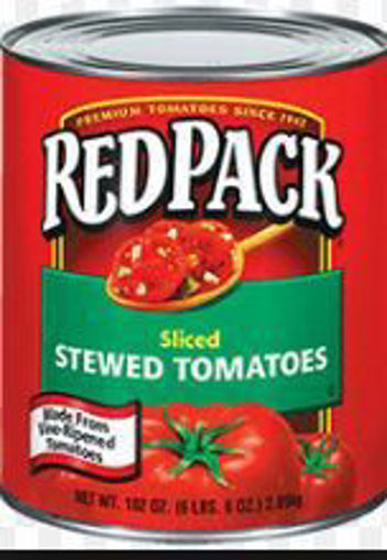 Picture of Red Pack - Stewed Tomatoes - #10 can, 6/case