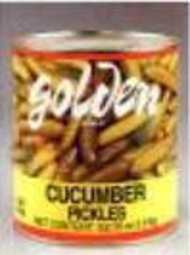 Picture of Golden Foods - Large Cucumber Pickles, 30-36 ct - #10 can, 6/case