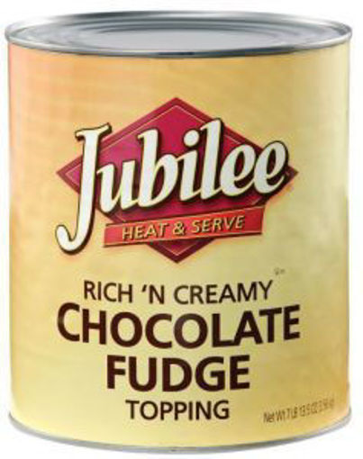 Picture of Jubliee - Rich N Creamy Chocolate Fudge Topping - 96 oz, 6/case