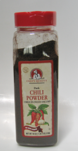 Picture of Chefs Quality - Chili Powder - 18 oz Jar, 12/case