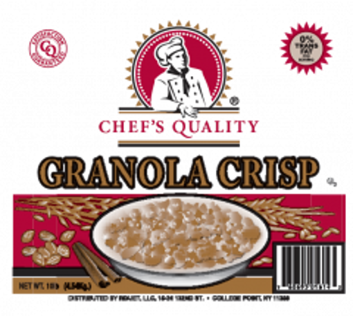 Picture of Chefs Quality - Crunchy Granola - 10 lbs Bag