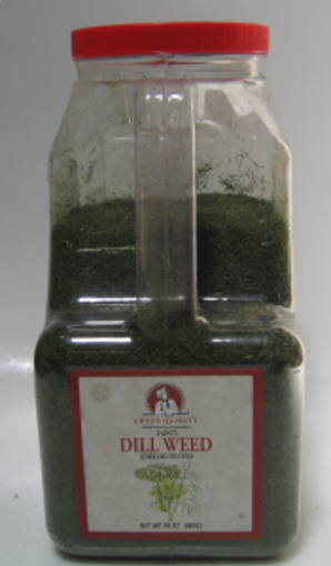 Picture of Chefs Quality - Fancy Dill Weed - 24 oz Jar, 4/case
