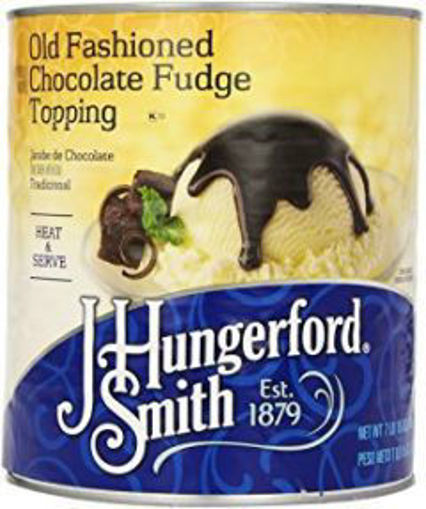 Picture of J Hungerford Smith - Milk Chocolate Fudge Topping - #10 can, 6/case