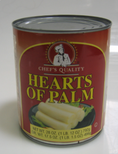 Picture of Chefs Quality - Hearts of Palm - 28 oz, 12/case