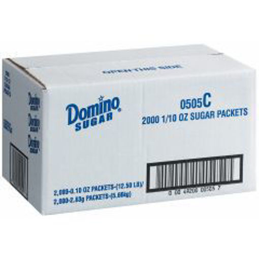 Picture of Domino Sugar Blue Packets - 2000 ct