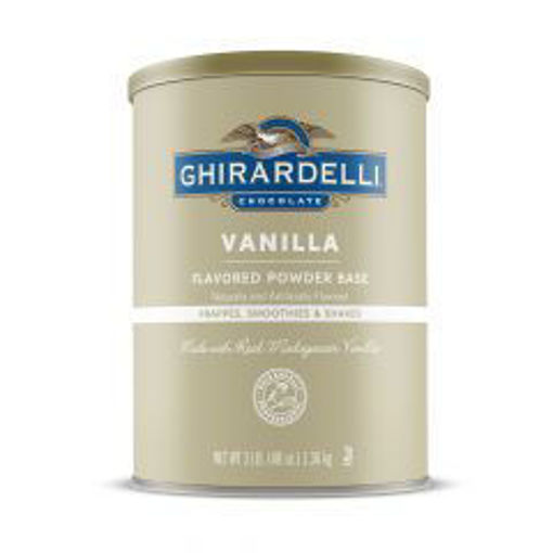 Picture of Ghirardelli - Vanilla - 3lb, 6/case