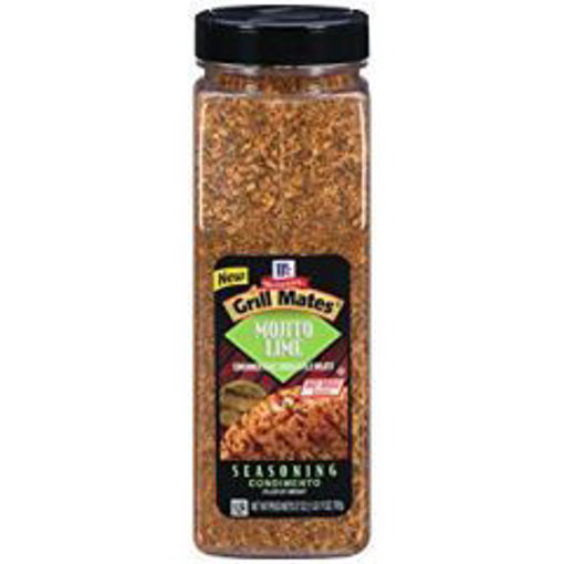 Picture of McCormick Grill Mates - Mojito Lime Seasoning - 27 oz, 6/case