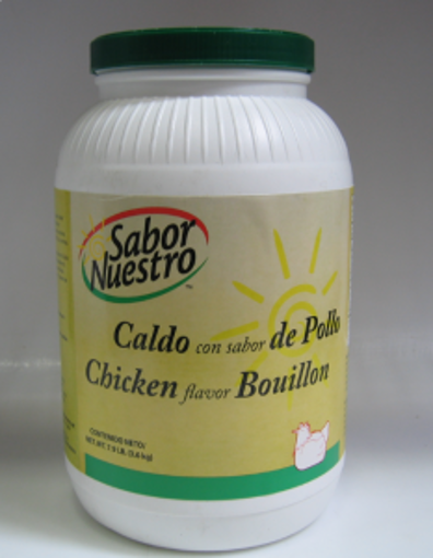 Picture of Sabor Nuestro - Chicken Flavor Bouillon Cubes - 70 ct Jar, 6/case
