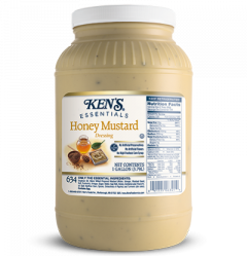 Picture of Kens - Honey Mustard Dressing - 1 gallon, 4/case
