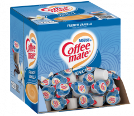 Picture of Coffee mate - French Vanilla Creamer Cups - 180 ct