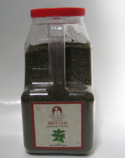 Picture of Chefs Quality - Crushed Mint Leaves - 24 oz Jar, 4/case