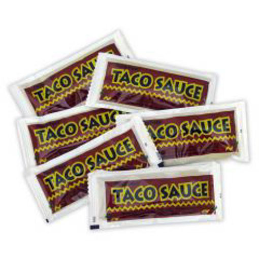 Picture of Chefs Quality - Taco Sauce - 9 gram Pouch - 200 ct Box