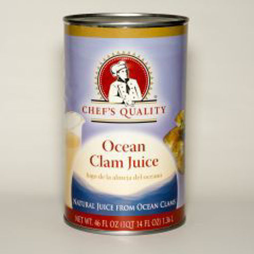 Picture of Chefs Quality - Ocean Clam Juice - 46 oz Can, 12/case