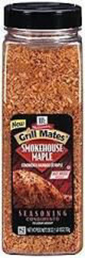 Picture of McCormick Grill Mates - Maple Smokehouse Seasoning - 28 oz, 6/case