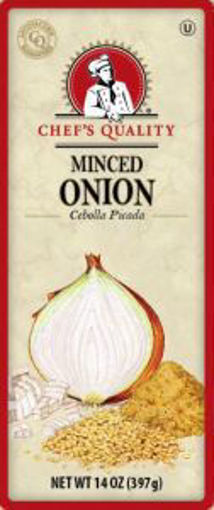 Picture of Chefs Quality - Minced Onion - 14 oz Jar, 12/case