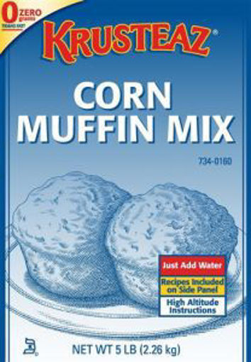 Picture of Continental Mills - Corn Muffin Mix - 5 lbs