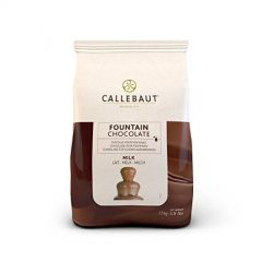 Picture of Callebaut - Fountain Milk Chocolate - 5.5lb Bag