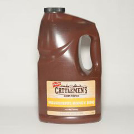 Picture of Cattlemans BBQ - Mississippi Honey Sauce - 1 gallon, 4/case