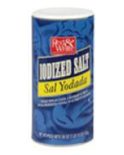 Picture of Red & White - Iodized Salt - 24/26 oz