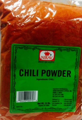 Picture of Nirav - Chili Powder - 400g Jar, 10/case