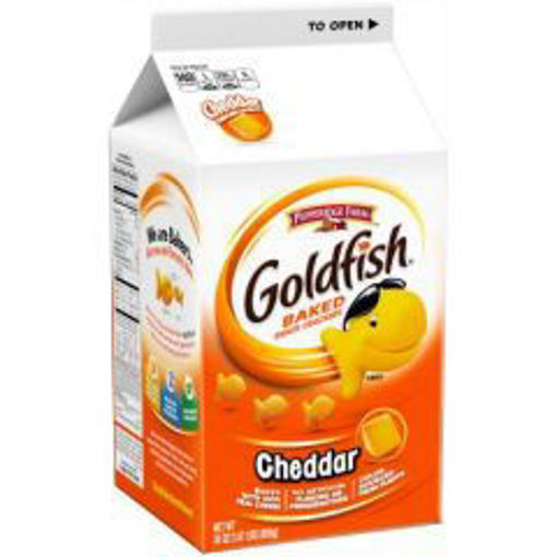 Picture of Pepperidge Farm - Goldfish Cheese Crackers - 31 oz Pack, 6/case