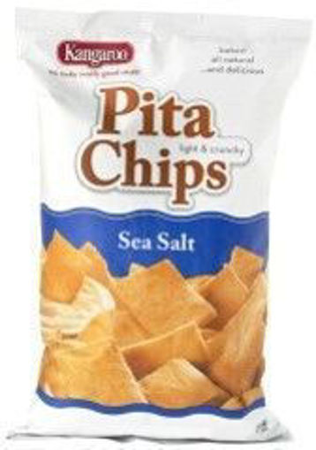 Picture of Kragen - Sea Salt Pita Chips - 9oz. Bag, 12/case