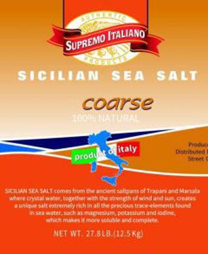Picture of Supremo Italiano - Coarse Sea Salt - 27.8 lbs