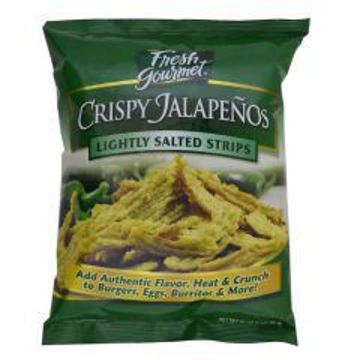 Picture of Fresh Gourmet - Lightly Salted Stips, Crispy Jalapenos - 1 lb, 10/case